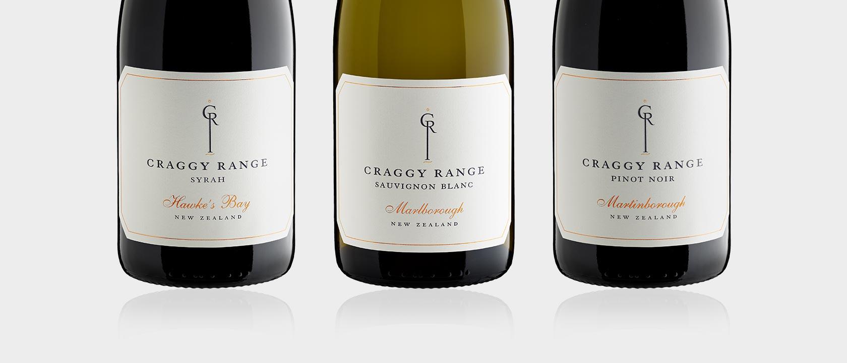 Craggy Range Labels | Band
